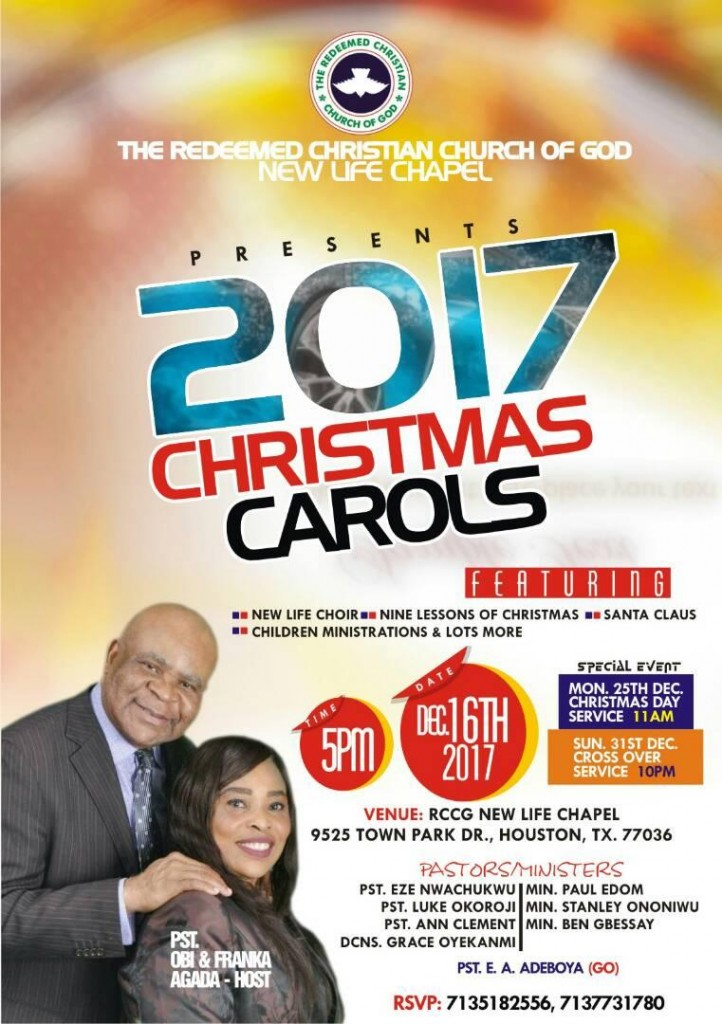 Rccg Christian Carols....