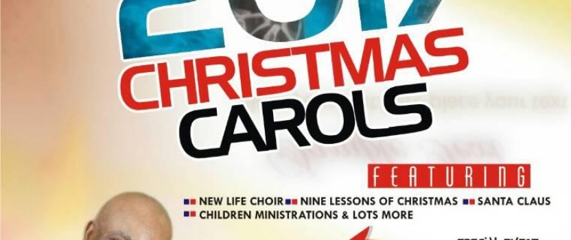 2017 CHRISTMAS CAROLS AND LESSONS