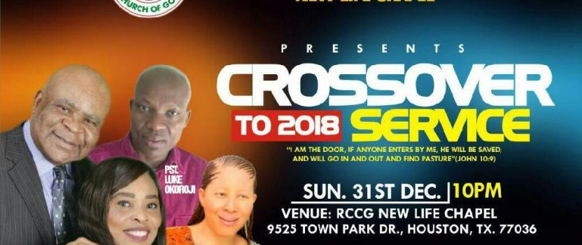 CROSSOVER INTO 2018 SERVICE