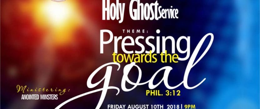ZONAL HOLYGHOST SERVICE